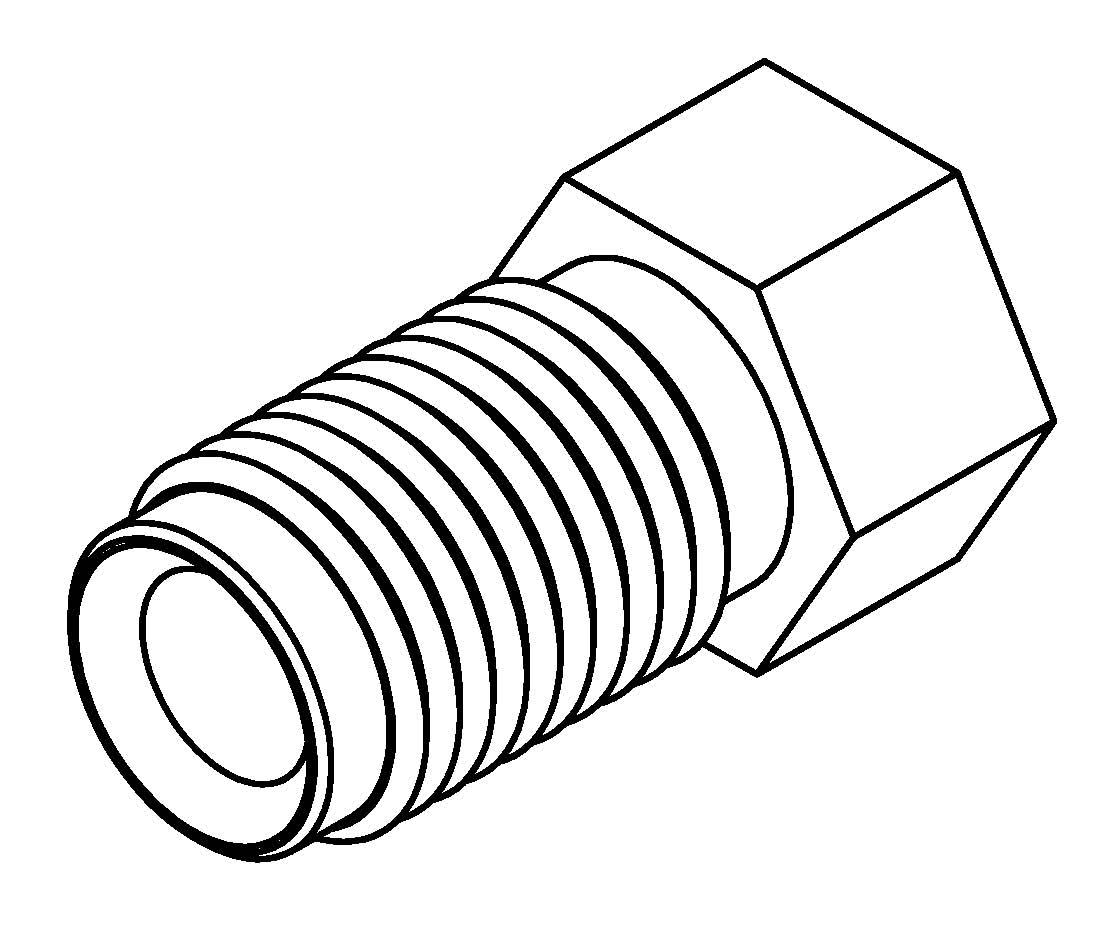 brake line fitting male m9 x 1mm 3  16